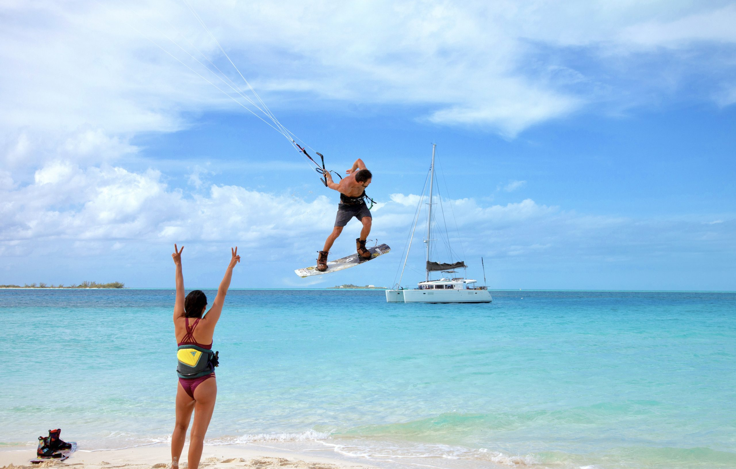 Kitesurfing or Clinic